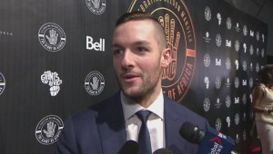 Maple Leafs' Bernier calls Nelson Mandela 'one of the most known athletes'